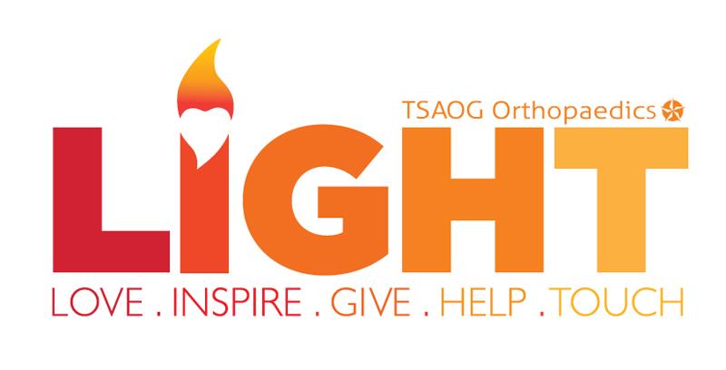 TSAOG Orthopaedics L.I.G.H.T. logo