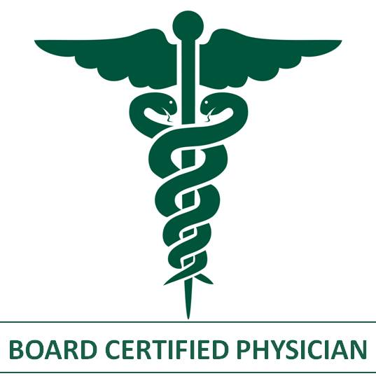 Board Certified Physician