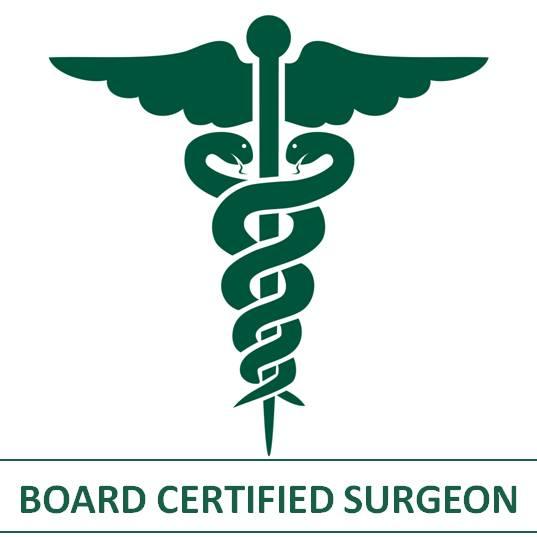 board certified surgeon
