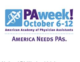 TSAOG Celebrates National PA Week