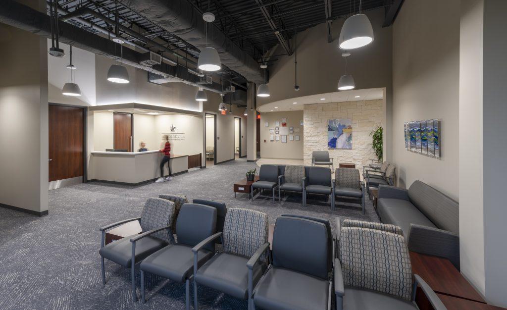 Surgery Center waiting area